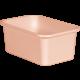 Blush Small Plastic Storage Bin 6 Pack Alternate Image A