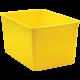 Yellow Plastic Multi-Purpose Bin 6 Pack Alternate Image A