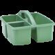 Eucalyptus Green Plastic Storage Caddy 6 Pack Alternate Image B