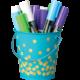 Teal Confetti Bucket Alternate Image A