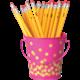 Pink Confetti Bucket Alternate Image A