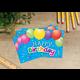 Happy Birthday Balloons Postcards Alternate Image A