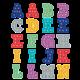 Marquee Alphabet Stickers Alternate Image A