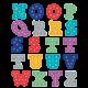 Marquee Alphabet Stickers Alternate Image B