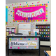 Confetti Pennants Welcome Bulletin Board Display Alternate Image A