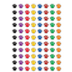 Colorful Paw Prints Mini Stickers Alternate Image A