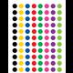 Colorful Circles Mini Stickers Alternate Image A