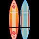 Giant Surfboards Bulletin Board Display Set Alternate Image A