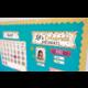 Confetti Calendar Bulletin Board Display Alternate Image A