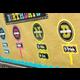 Chalkboard Brights Our Class Birthdays Mini Bulletin Board Alternate Image A