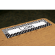 Black & White Chevrons and Dots Flat Name Plates Alternate Image A