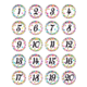 Confetti Numbers Stickers Alternate Image A