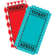 Carnival Tickets Mini Accents Alternate Image A