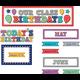 Marquee Our Class Birthdays Mini Bulletin Board Alternate Image A