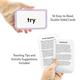 Sight Words Flash Cards - 3 Letter Words Alternate Image B