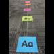 "Spot On Carpet Markers Alphabet  - 4"" Alternate Image C"