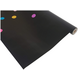 Colorful Confetti on Black Better Than Paper Bulletin Board Roll Alternate Image B