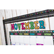Clingy Thingies Chalkboard Brights Bold Block Letters Alternate Image A