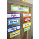 Clingy Thingies Playful Patterns Labels Alternate Image A