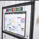 Clingy Thingies Chalkboard Brights Calendar Set Alternate Image B