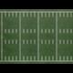 Fun Size Sports Field Better Than Paper Bulletin Board Roll Alternate Image A