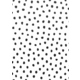 Black Painted Dots on White Better Than Paper Bulletin Board Roll Alternate Image A