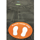 """Spot On Carpet Markers Please Stand Here - 7"""" Alternate Image C"""