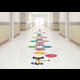 Pete the Cat Alphabet Balloons Sensory Path Alternate Image A