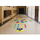 Pete the Cat Numbers and Colors Sensory Path Alternate Image A