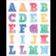 Watercolor Alphabet Stickers Alternate Image A
