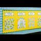 Lemon Zest Flat Name Plates Alternate Image A