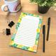 Lemon Zest Notepad Alternate Image A
