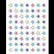 Iridescent Colorful Stars Mini Stickers Alternate Image A