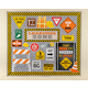 Under Construction Learning Zone Bulletin Board Display Alternate Image A