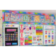 Colorful Vibes Pennants Welcome Bulletin Board Display Alternate Image A