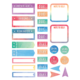 Watercolor Planner Stickers Alternate Image A