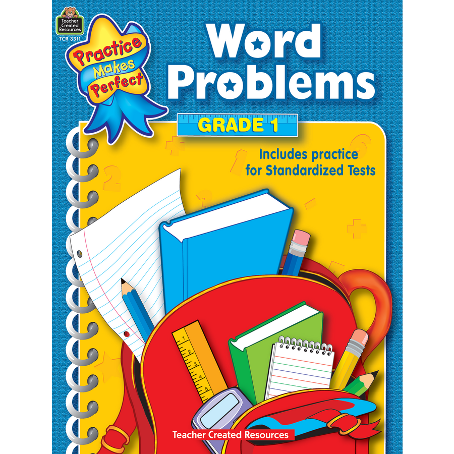 Word Problems Grade 1 - TCR3311 | Teacher Created Resources