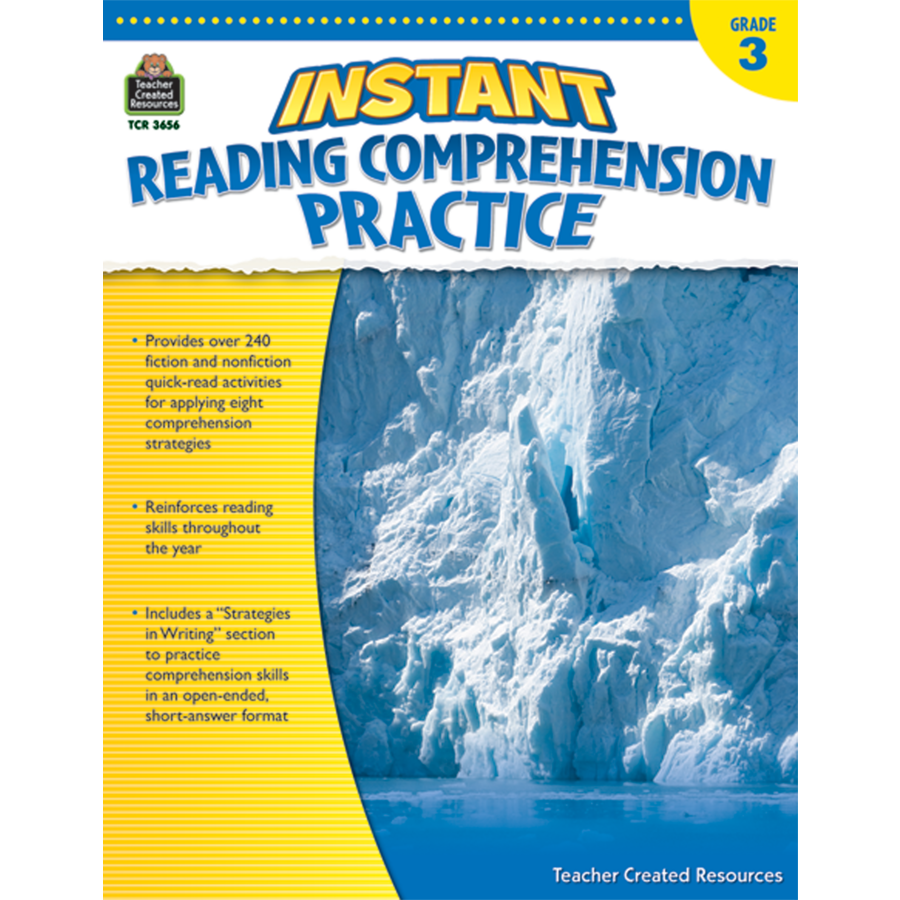 - Instant Reading Comprehension Practice Grade 3 - TCR3656 Teacher