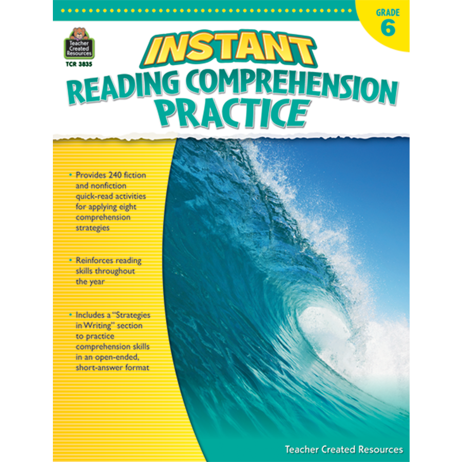 - Instant Reading Comprehension Practice Grade 6 - TCR3835 Teacher