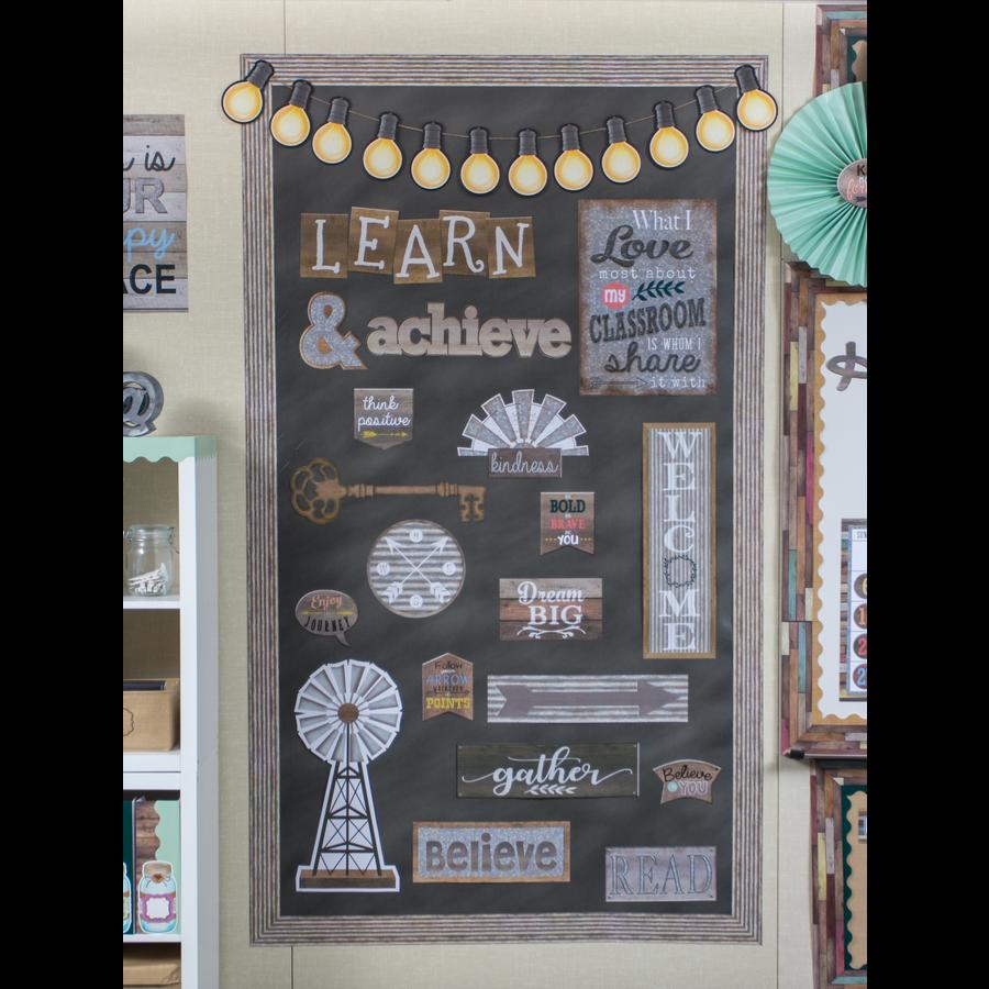 Home Sweet Classroom Wall Decor Bulletin Board Display Set ...