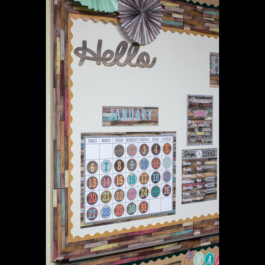 Home Sweet Classroom Calendar Bulletin Board Display ...