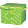 TCR20820 Lime Polka Dots Storage Box