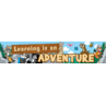 TCR3430 Ranger Rick Learning Is An Adventure Banner