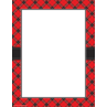 TCR5695 Red Plaid Computer Paper
