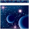 TCR5852 Blue Stellar Space Straight Border Trim