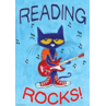 TCR63930 Pete the Cat Reading Rocks Positive Poster