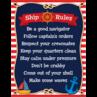 TCR7517 Nautical Ship Rules Chart
