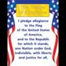 TCR7631 Pledge of Allegiance Chart