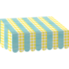 TCR77471 Lemon Zest Awning