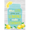 TCR7956 When Life Gives You Lemons Make Lemonade Positive Poster